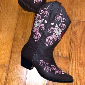 Roper western girls boots